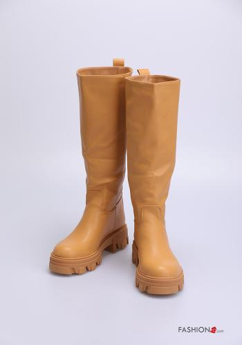 Casual Boots Camel colour