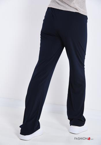 Trousers  with bow Blue