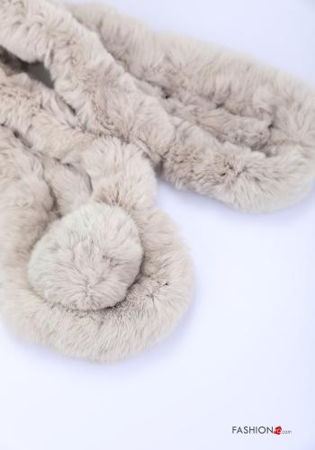 Scarf in Ecological Fur