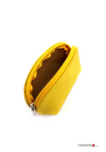 Coin Purse in Genuine Leather  with zip