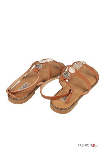 Sandals  adjustable with strap