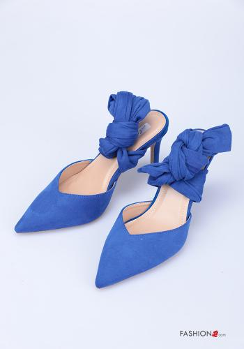 Heeled shoes  Suede with strap