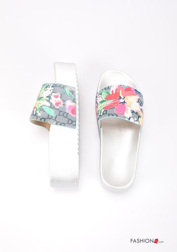 Slippers Floral print