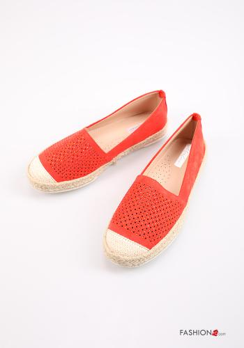 Lässig Espadrilles Orange