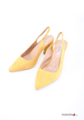 Heeled shoes  Suede