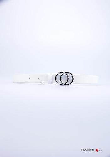 Casual Belt White