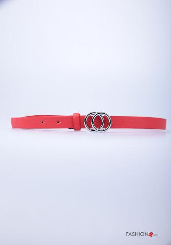Casual Belt Red
