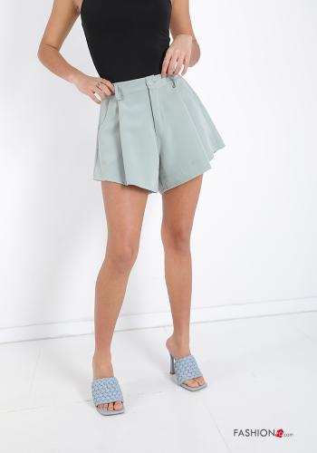 Shorts  with buttons with zip with pockets