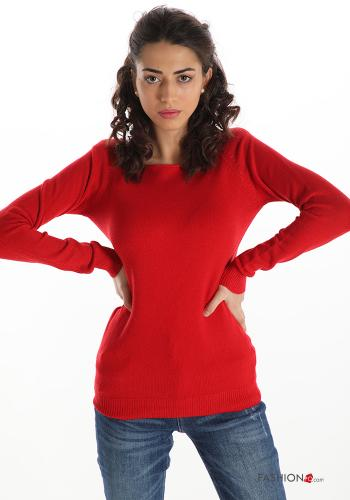 Casual Sweater Red
