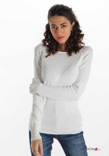 Casual Sweater White