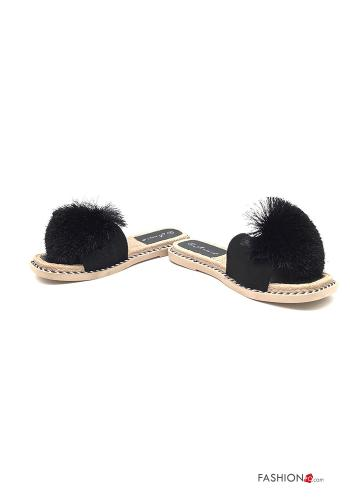 Casual Slippers Black