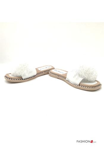 Casual Slippers White
