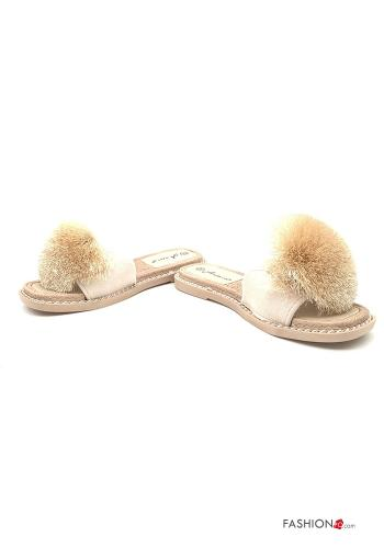 Casual Slippers Mud colour