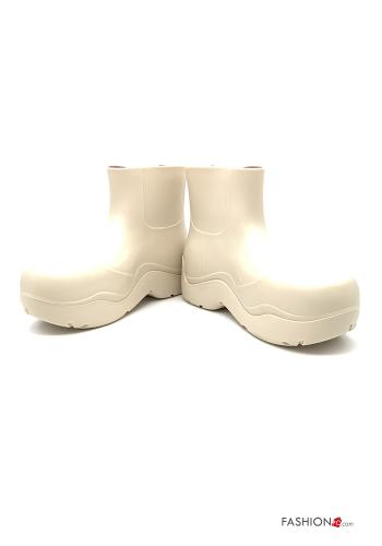 Bottines Casual Beige
