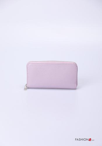 Wallet in Genuine Leather  with zip