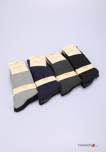 Socks in Cotton Various colors set